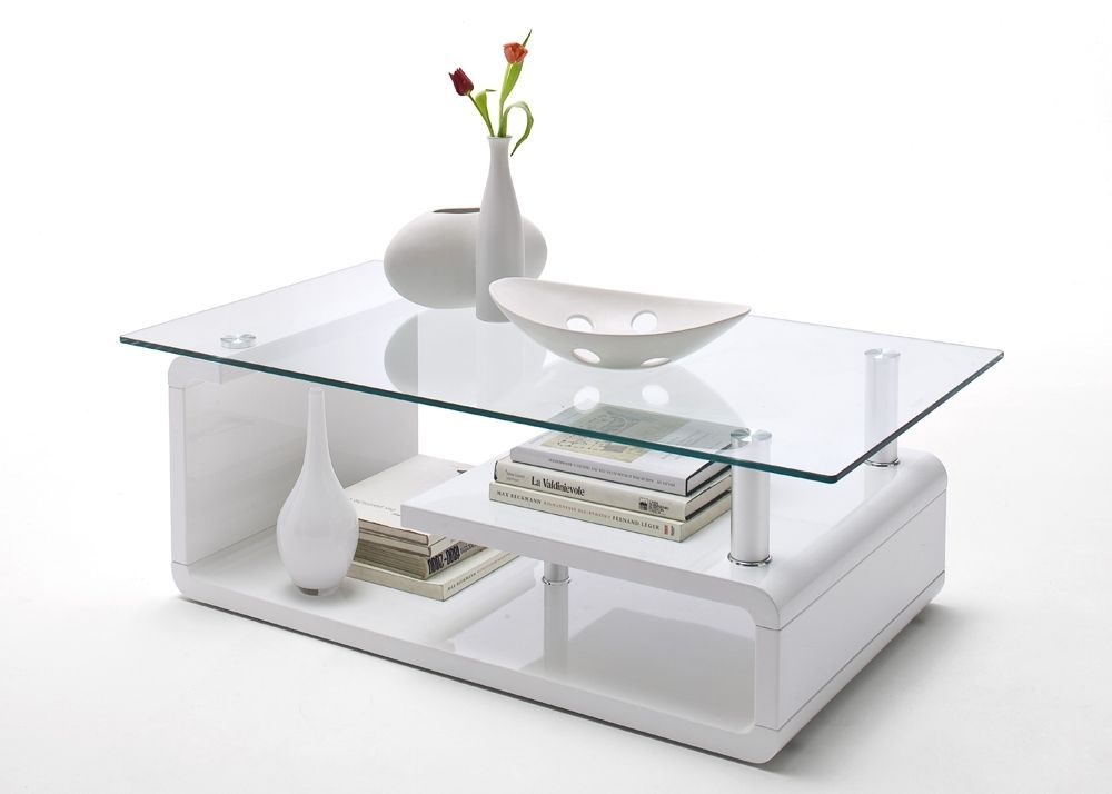 Modern Couchtisch Wohnzimmertisch Glas