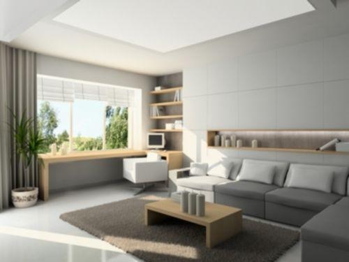 Wohnzimmer Und Arbeitszimmer Kombiniert