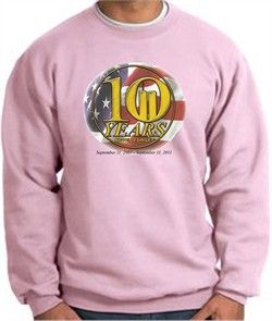 A&AMP E DESIGNS: Never Forget Sweatshirts 10 Years Anniversary Memorial Pink Buy Now $21.99 Find at Faearch