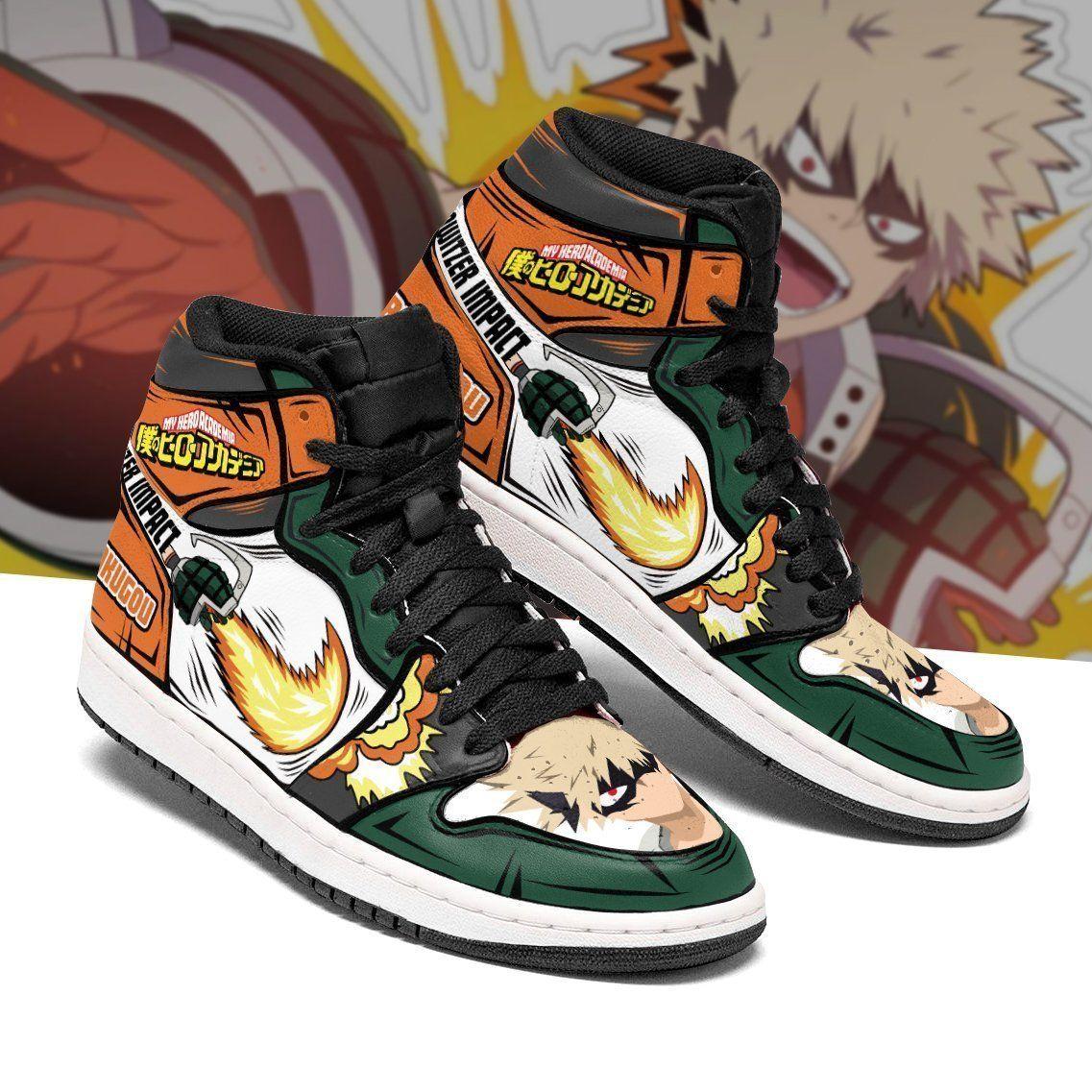 Katsuki Bakugou Shoes Boots Skill My Hero Academia