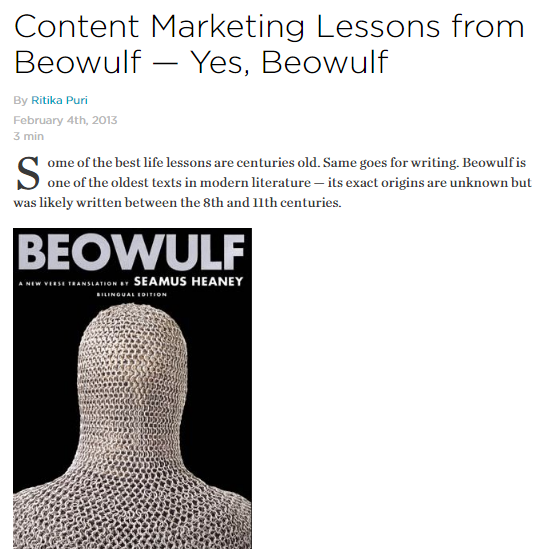 beowulf leadership