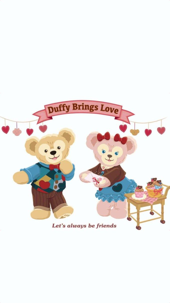 ダッフィー/Duffy[09]iPhone壁紙 iPhone 7/7 PLUS/6/6PLUS/6S/ 6S PLUS/SE Wallpaper  Background