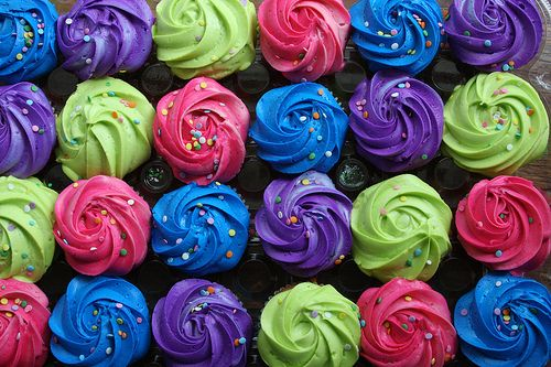 Girls Zebra cupcakes cupcake ideas girl birthday cupcake ideas