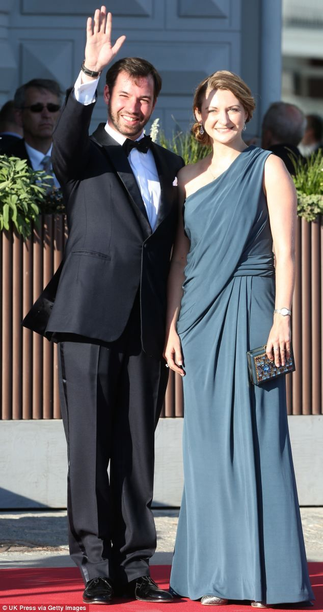Prince Guillaume of Luxembourg and Her Royal Highness Princess Stephanie