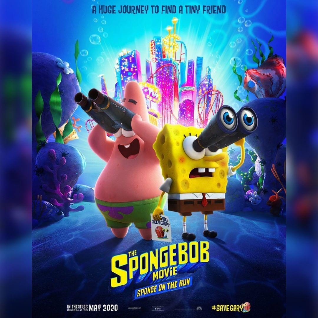 Spongebob Movie Poster Spongebobmovie Moviesengage Movies