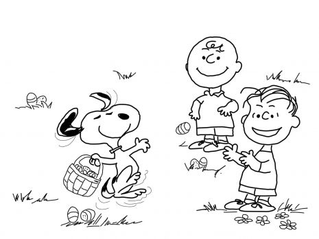 Charlie Brown Easter Coloring Page Super Coloring Snoopy Coloring Pages Halloween Coloring Pages Easter Coloring Pages