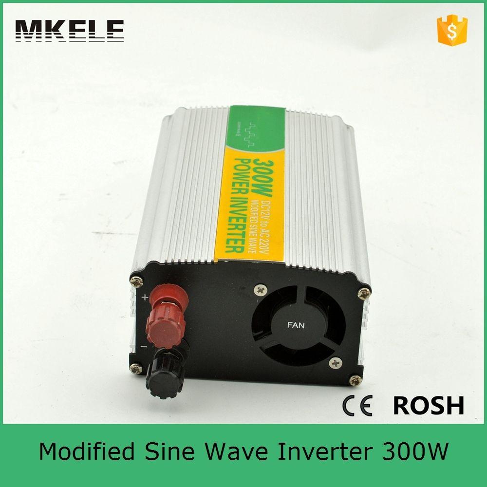 MKM300-122G modified sine wave power inverter 12v 220v 300w grid tie  inverter dc 12v