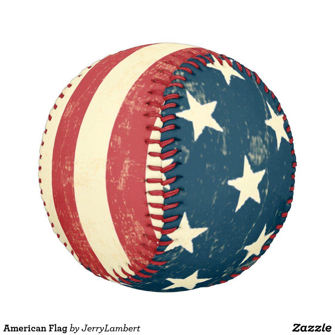 American Flag Baseball American Flag Wood American Flag Wall Art Wooden American Flag Decor