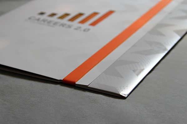 CAREERS 20 Custom Folder on Behance Presentation Is Everything - presentation cover with window
