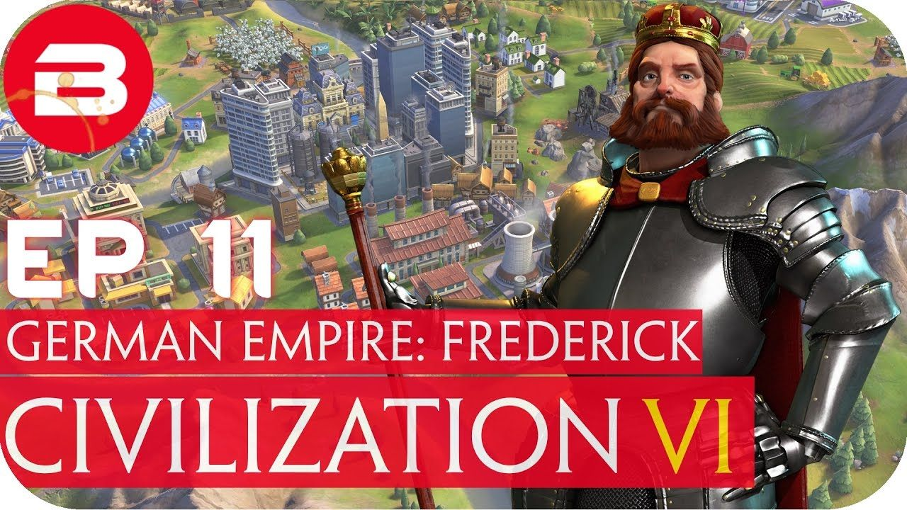Civ 6 - Germany Religious Victory / Islands Map #11 (Lets Play Civ 6 Civ...