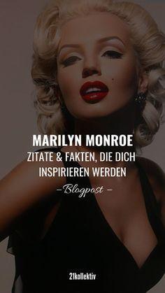 Wenn du einen schlechten Tag hast, werden dich diese tollen Zitate von Marilyn Monroe wieder fröhlich stimmen. (Bonus: Fakten, die du bestimmt noch nicht über sie wusstest.) #zitate #marilynmonroe #ikone #zitat #spruch #sprüche #monroe #inspo