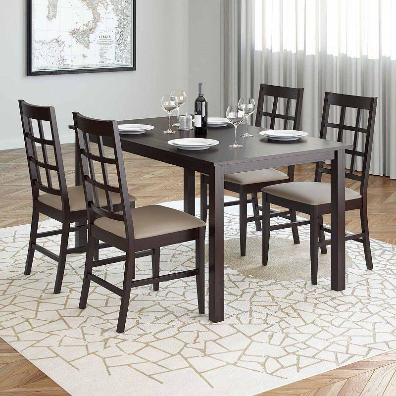 Atwood 5 Pc Dining Set Di 2020 Meja Makan Set Meja Makan Desain