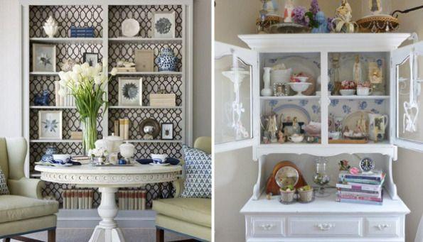 Papel pintado para reciclar muebles en este post os vamos a ense ar c mo renovar estanter as Papel pintado para muebles