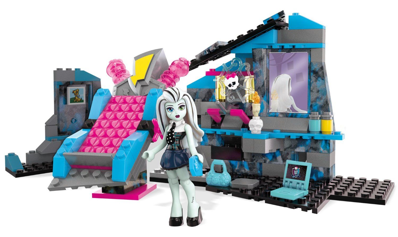 Frankie Stein S Electrifying Room Set Mega Bloks