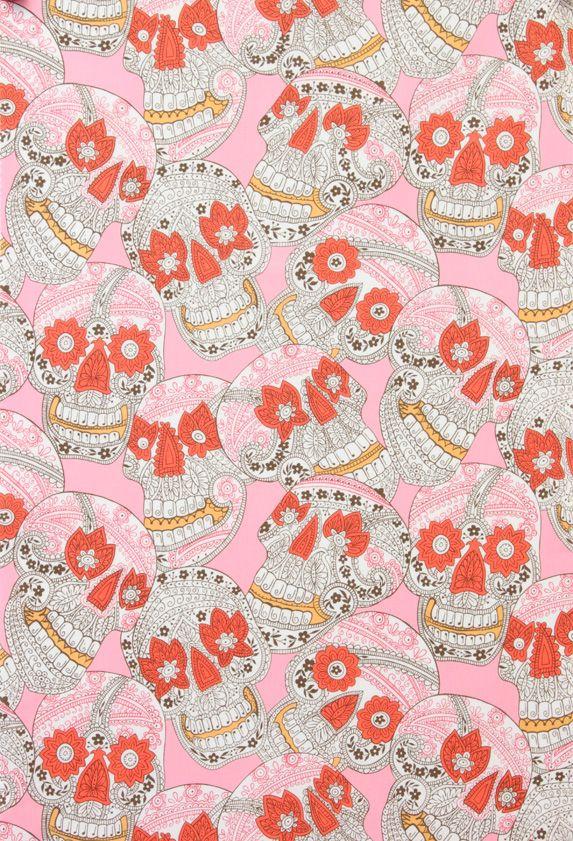 sugar skulls pink