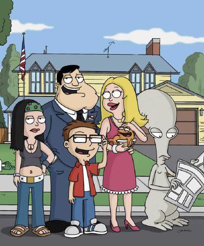 2005 American Dad American Animated Comedy Sitcom 8 Seasons