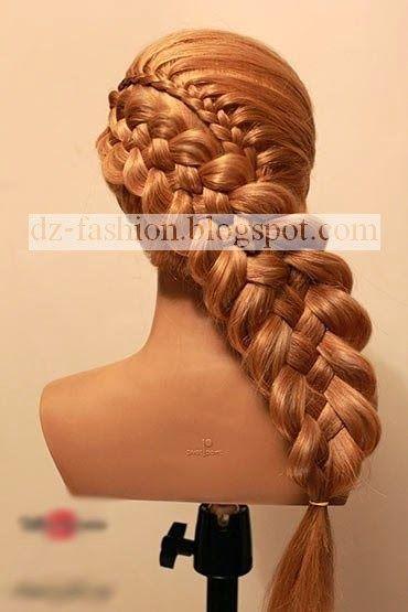 عمل تسريحات شعر طويل بالصور Dz Fashion Hair Videos Love Hair Long Hair Styles