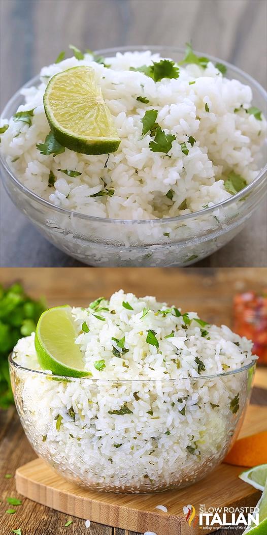 Chipotle Copycat Cilantro Lime Rice