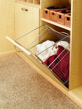 Fold Out Laundry Hamper Built In To Your Closet. Nice! Portland   Closets To