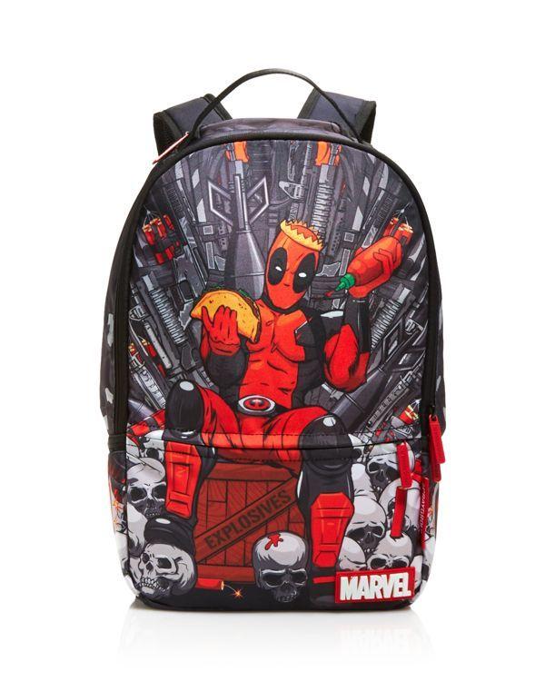 Sprayground Boys  Deadpool Throne Backpack Boys Backpacks 26b0f5abd27d9