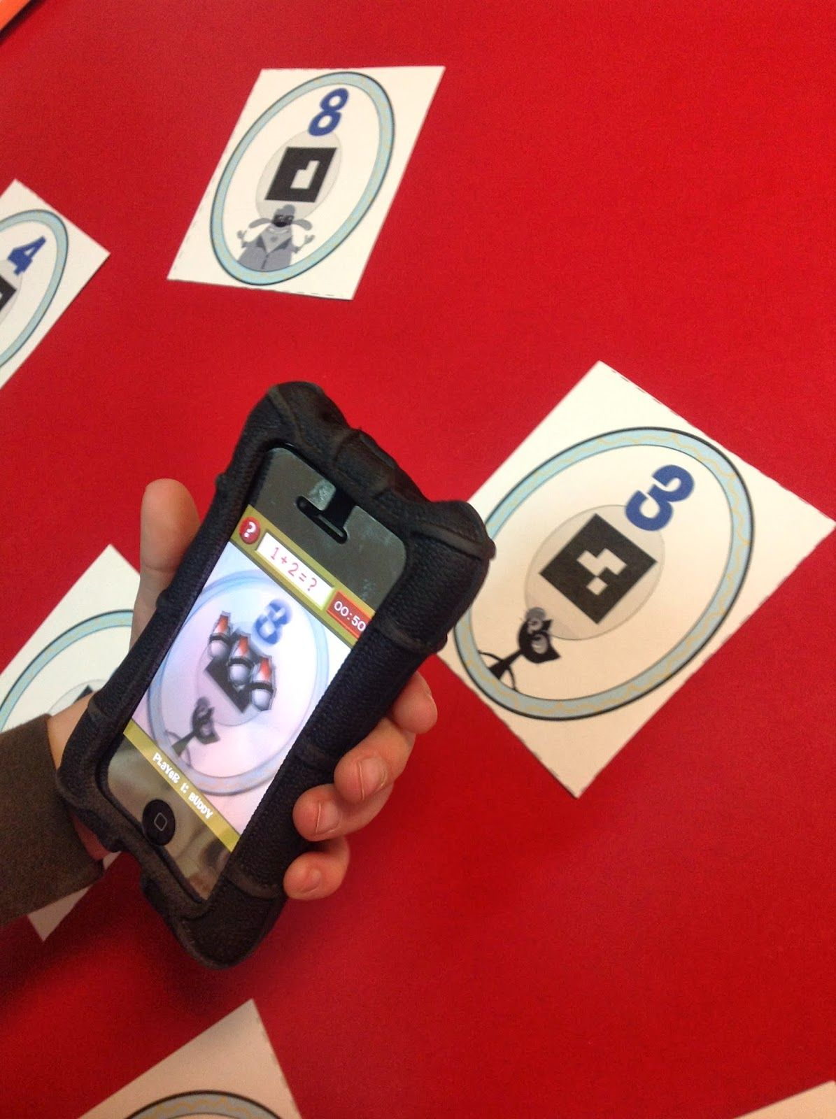 Augmented Reality App for Increasing Math Fluency! Math