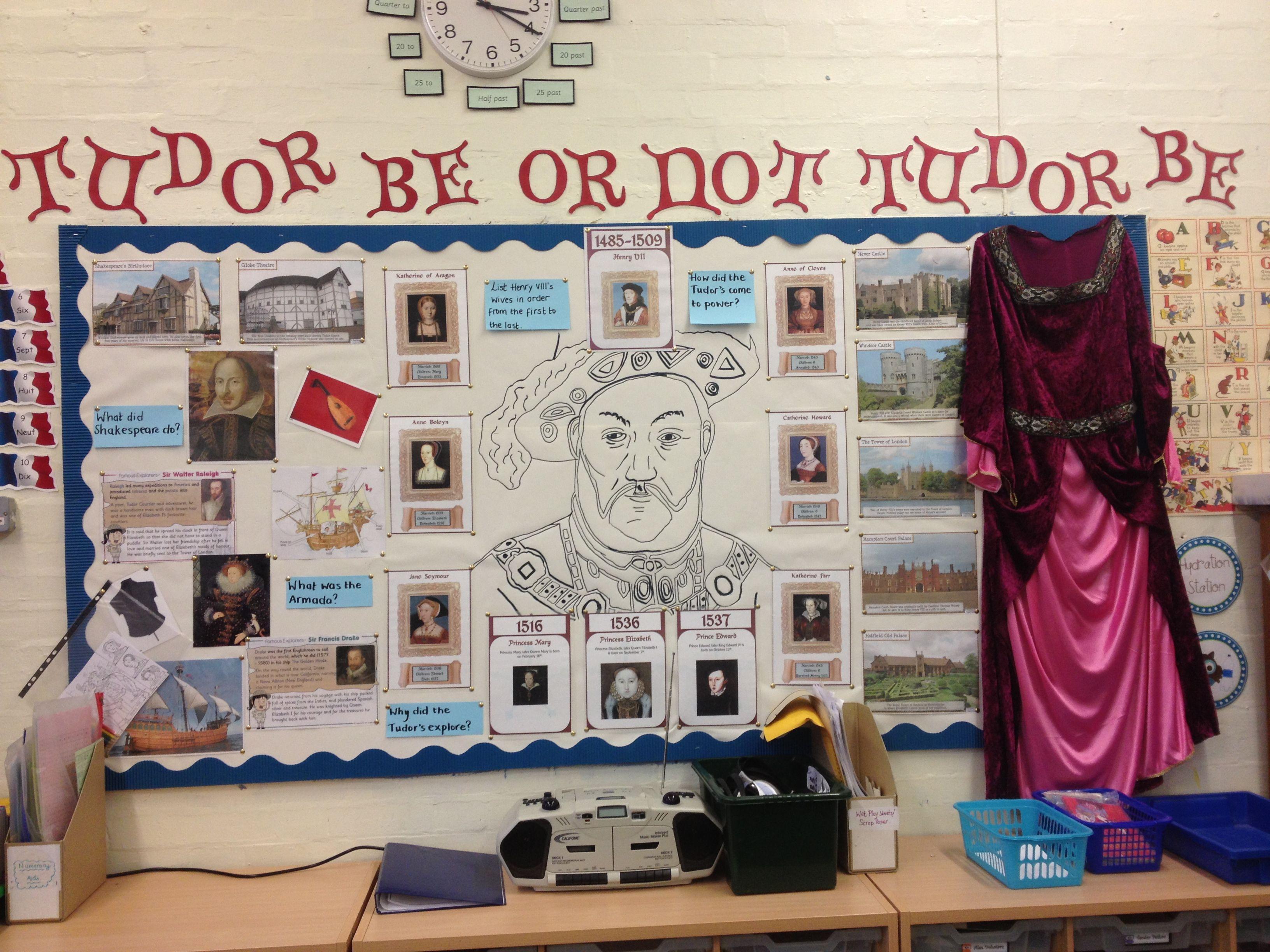 Year 3 Tudor Display