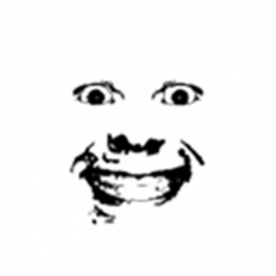 Creepy Transparent Roblox Face Png Clipart Royalty Free