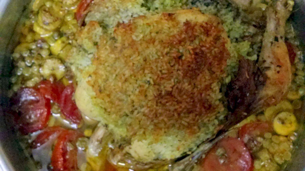 طريقة عمل الدجاج المحشي Food Chicken Breakfast