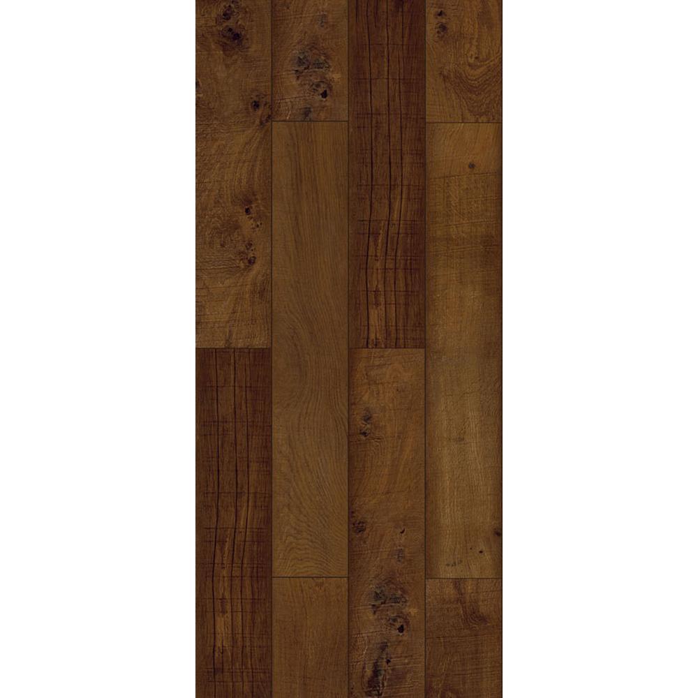 walnut ember java vinyl peel and stick vinyl plank 36 sq ft case brown