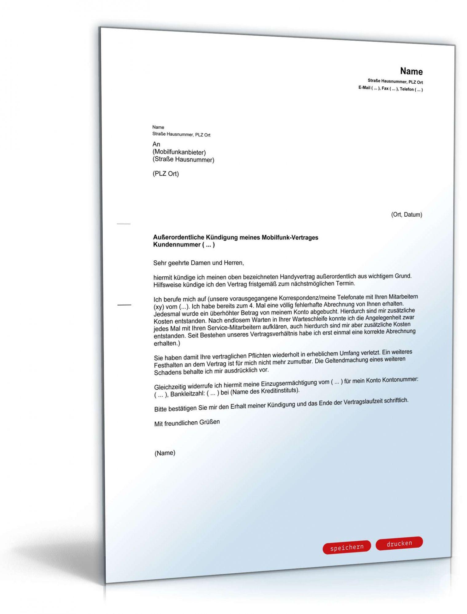 Durchsuche Unsere Das Image Von Sonderkundigung Handyvertrag Vorlage In 2021 Jobcenter Vorlagen Lebenslauf Vorlagen