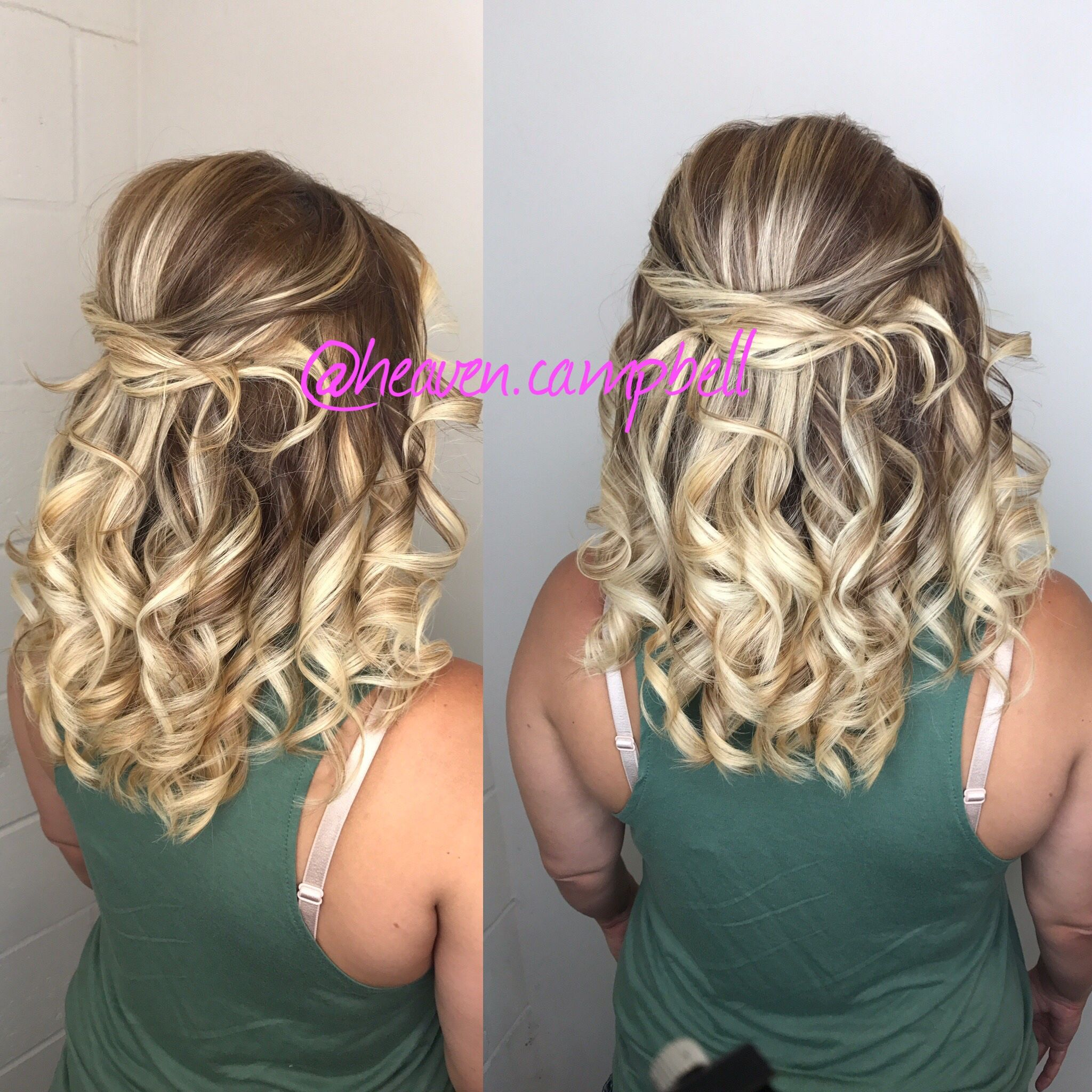 Blonde updo wedding hair tulsa oklahoma Heavenly Hair