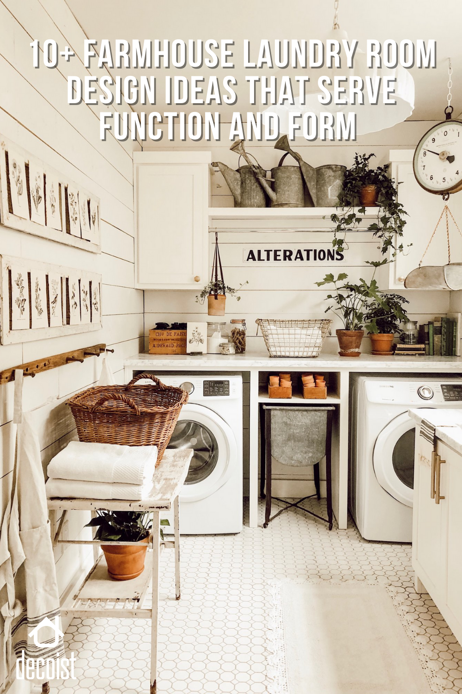 19++ Laundry room farmhouse type