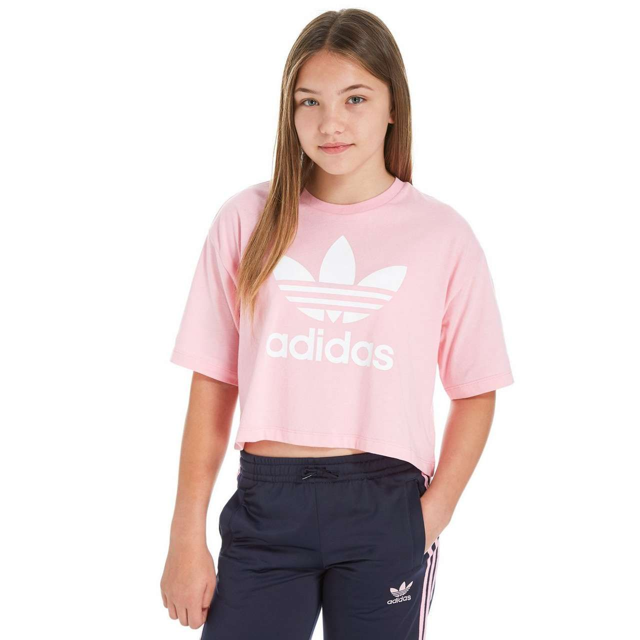 adidas trefoil t shirt junior