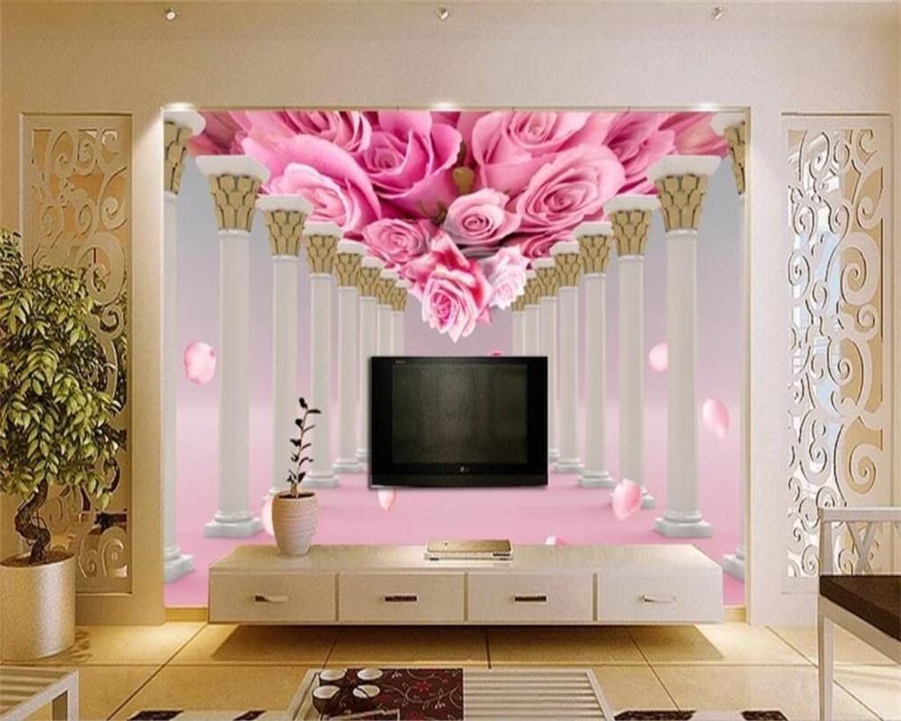 Avikalp Exclusive Awz0163 3d Wallpaper Mural Rose Flower Living Room Bedroom Tv Background Wall Hd 3d Wallpaper 3d Wallpaper Of Buddha 3d Wallpaper Home Deco 3d ceiling wallpaper india