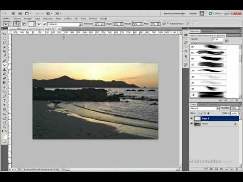 Curso Photoshop Cs5 No 23 Pinceles Mezclador Ii Photoshop Pinceles Cursillo