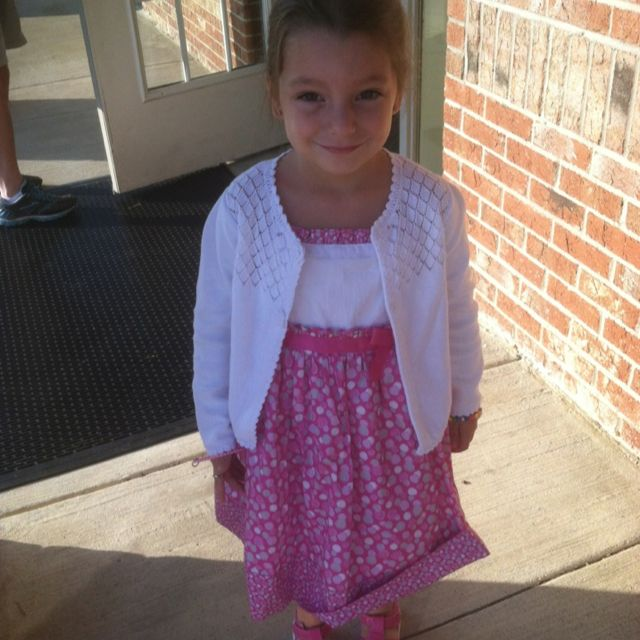 First day of Pre K