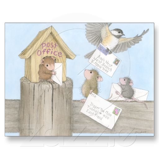 House-Mouse Designs® - Post Cards - This product was recently ... on house mouse design time, house cleaning services business cards, house mouse christmas,