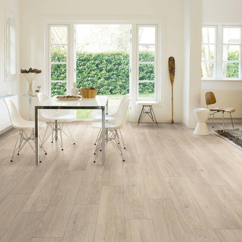 Light laminate flooring White laminate flooring, Oak
