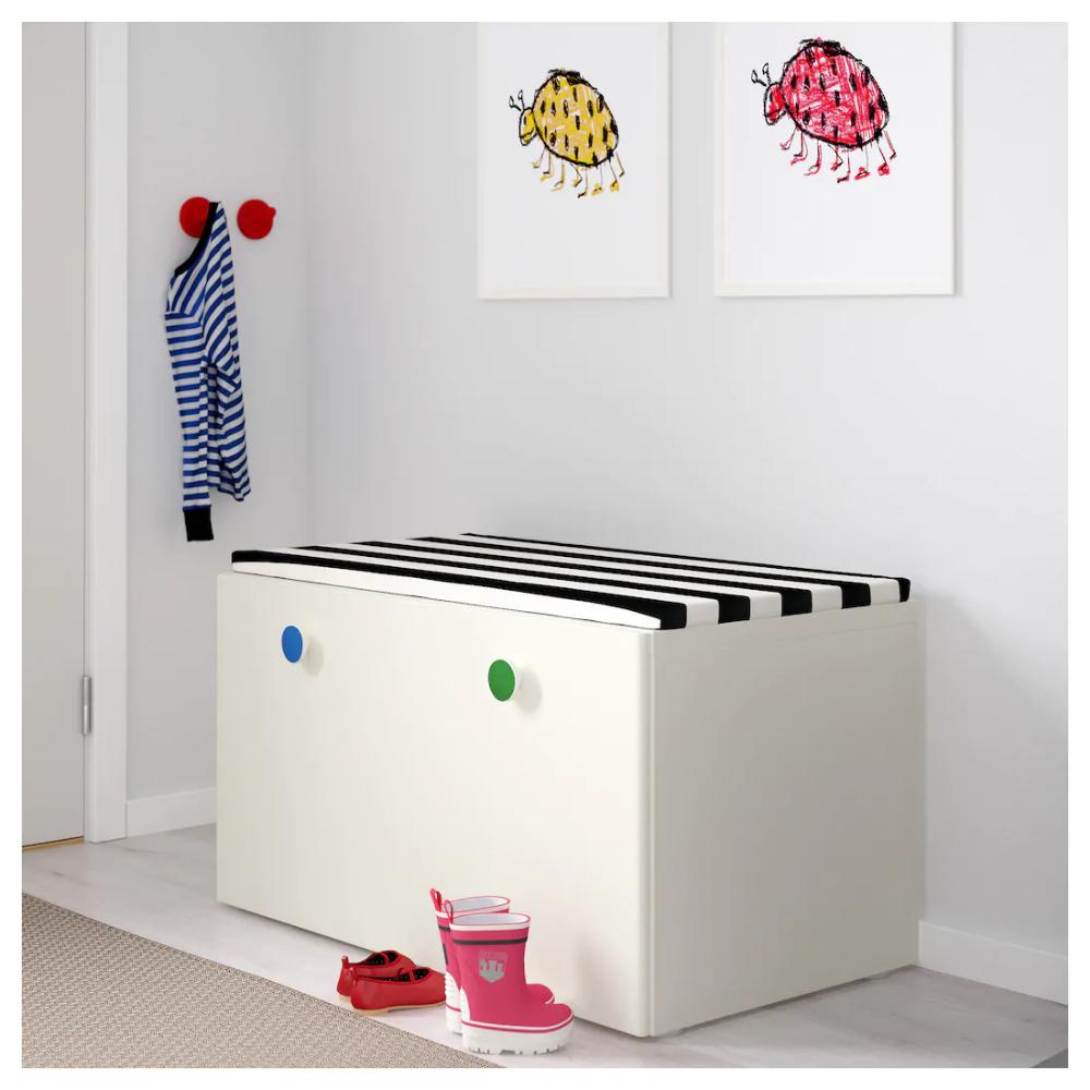 STUVA FÖLJA white, Storage bench, 90x50x50 cm IKEA