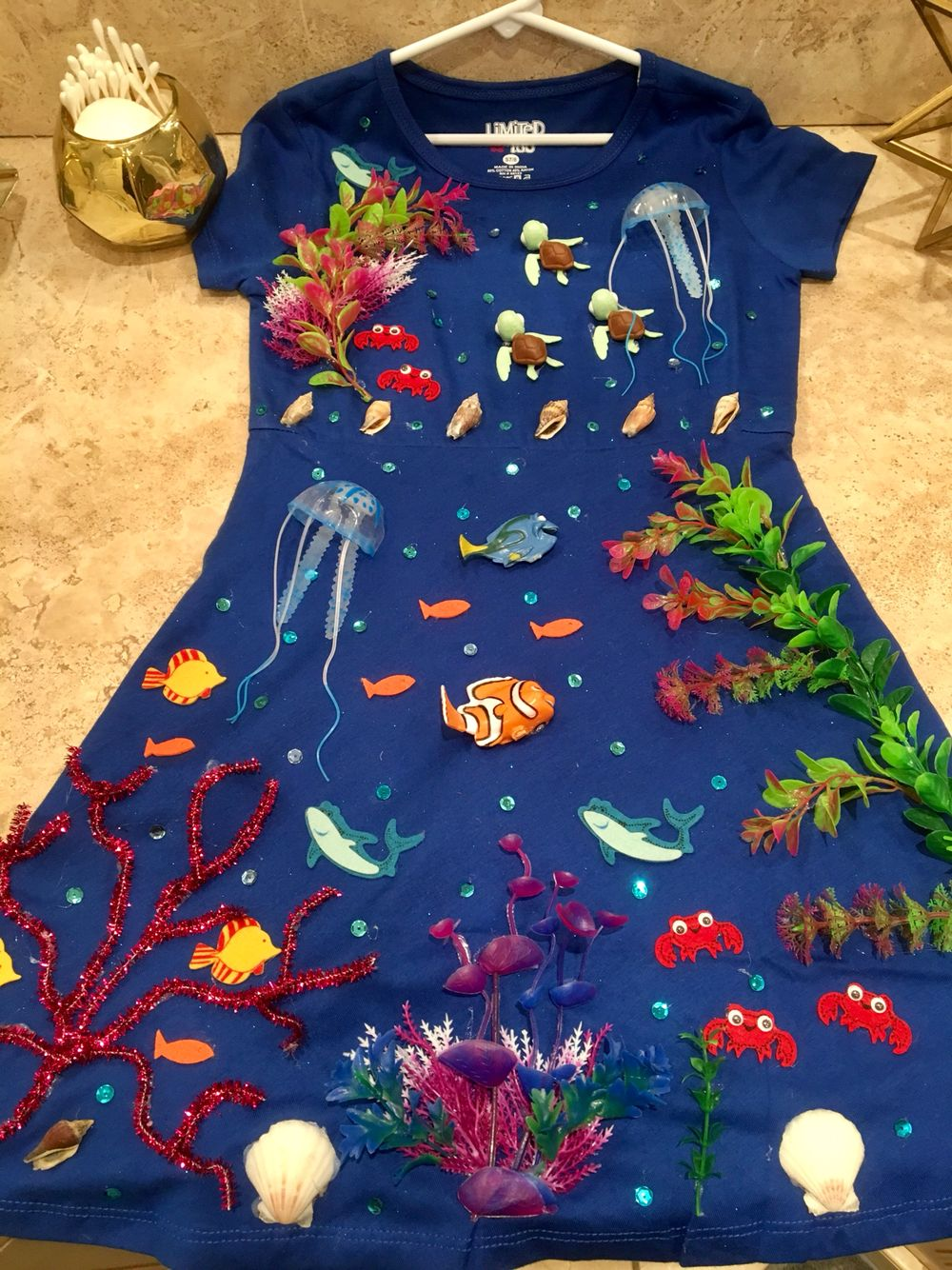 sea costume coral reef finding nemo sea