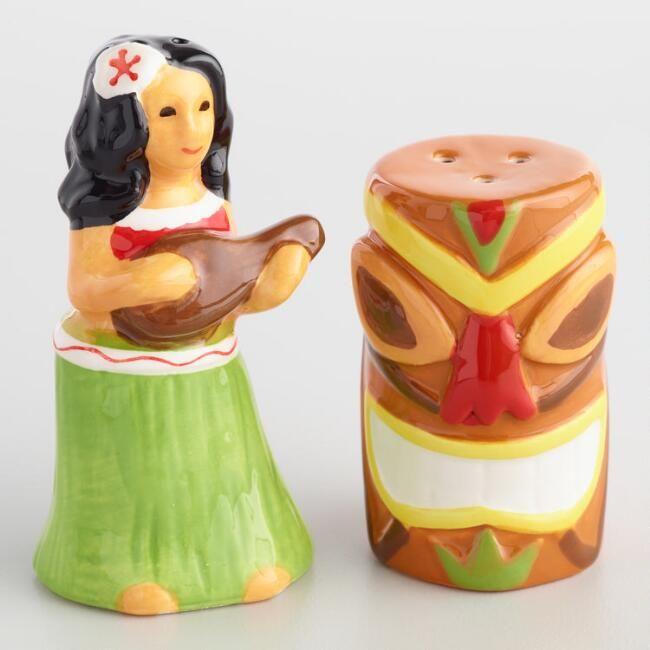 Hawaii Ceramic Salt And Pepper Shaker Set World Market Stuffed Peppers Pepper Shaker Salt And Pepper Shaker