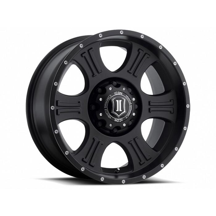 "19992020 F250 & F350 ICON Shield 20x9"" Wheel (Satin Black"