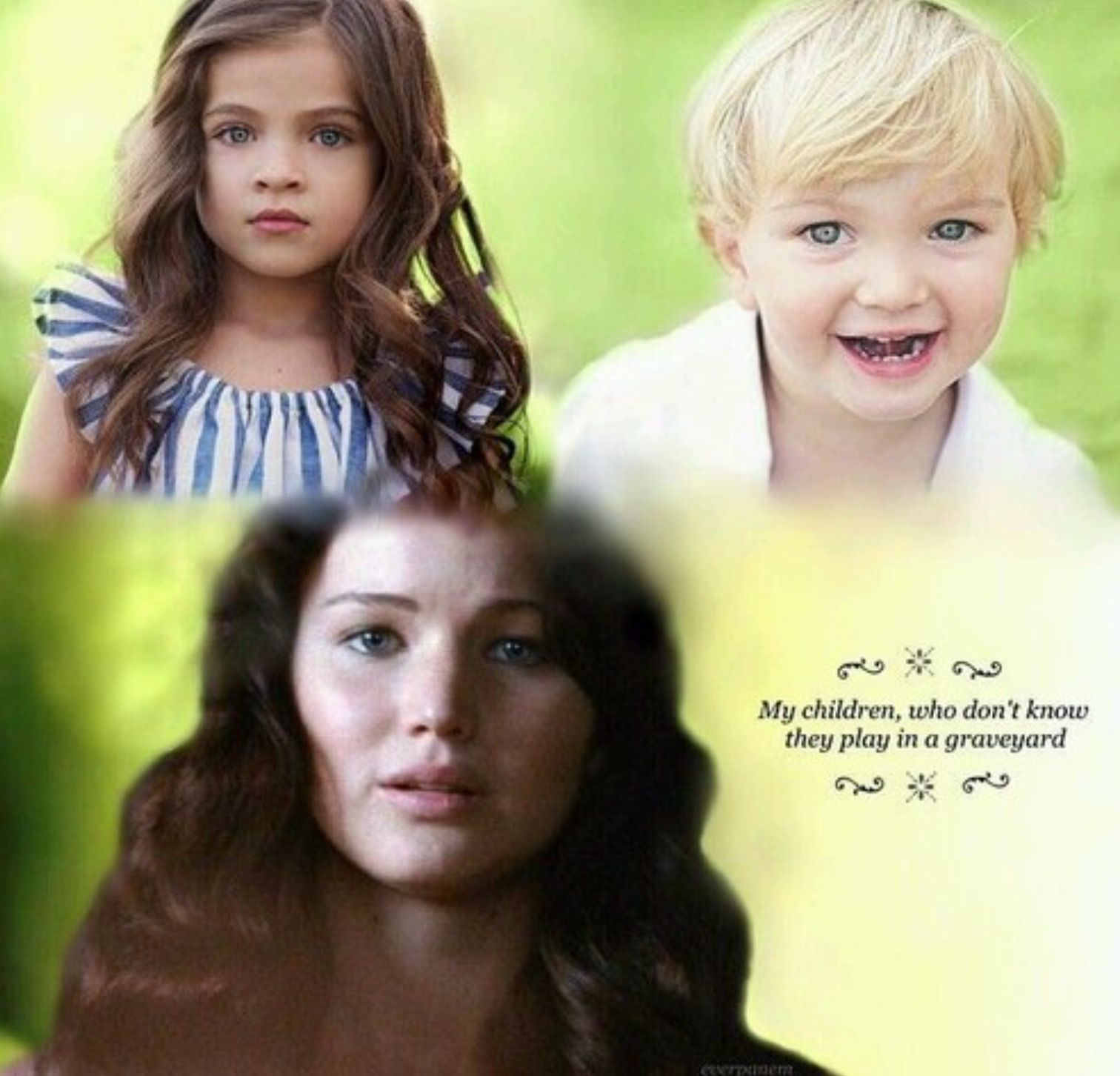 Katniss and Peeta's kids. | Fandoms love it ...