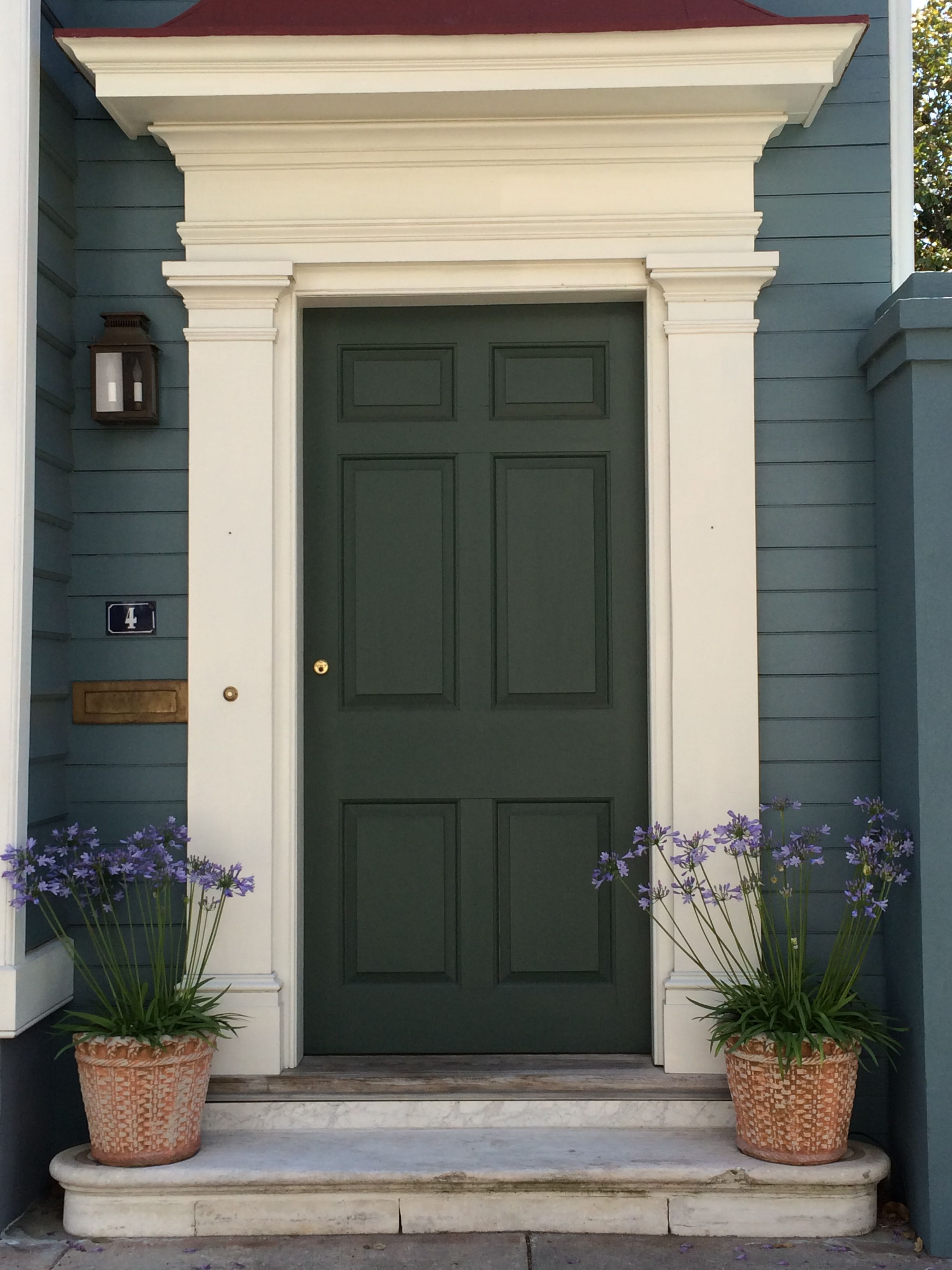 Beautiful Door In Charleston Porch Entry Doors Front Entrance House