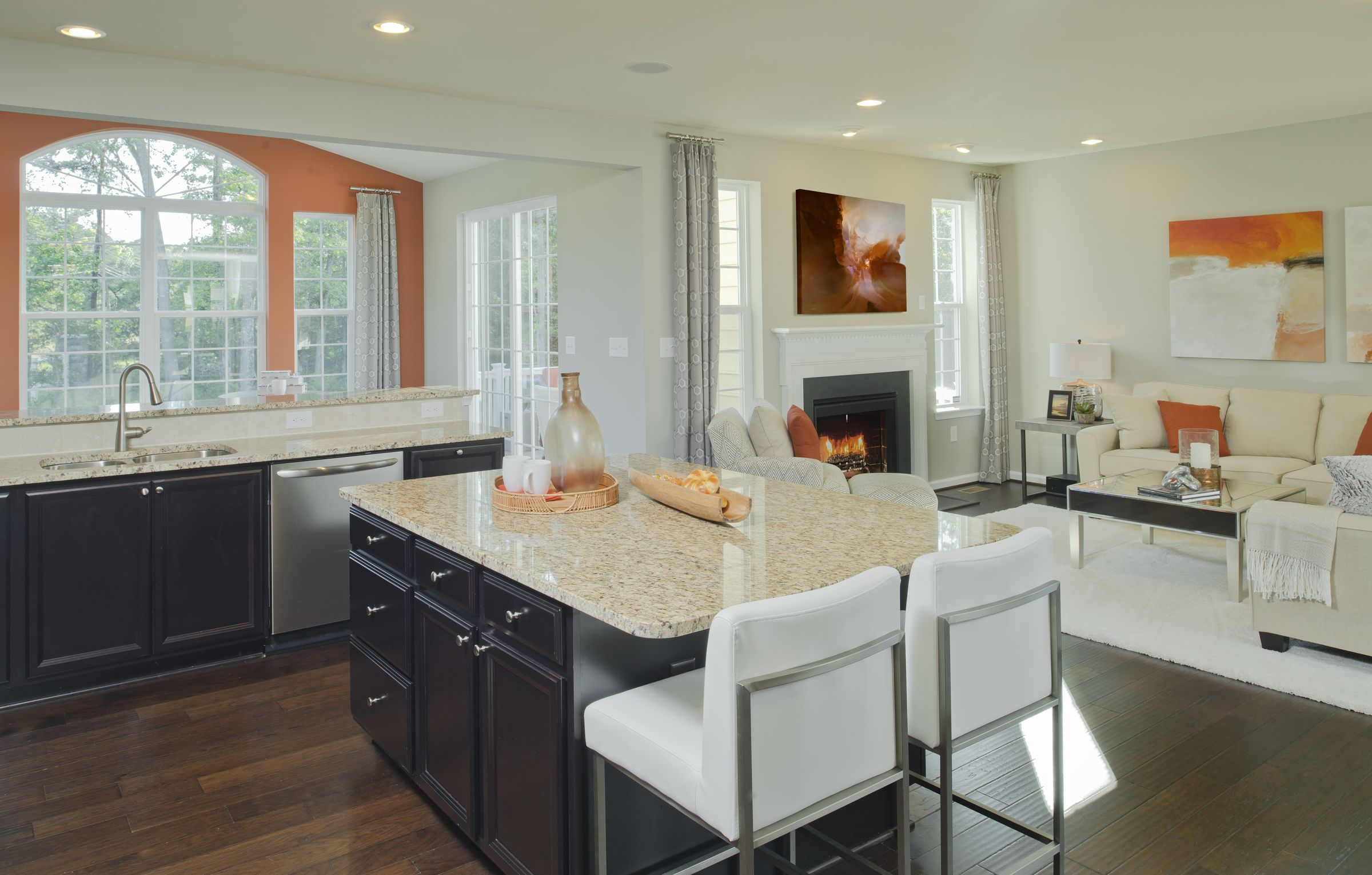 New Homes And Townhomes By Lennar In Md De And D C Metro Open Concept Kitchen Living Room Kitchen Concepts Open Concept Kitchen