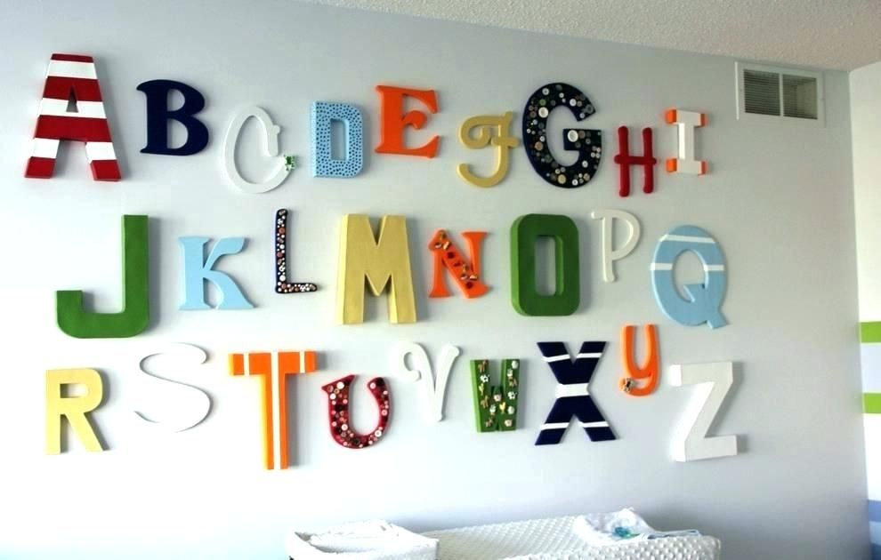 Decorative Letter For Wall