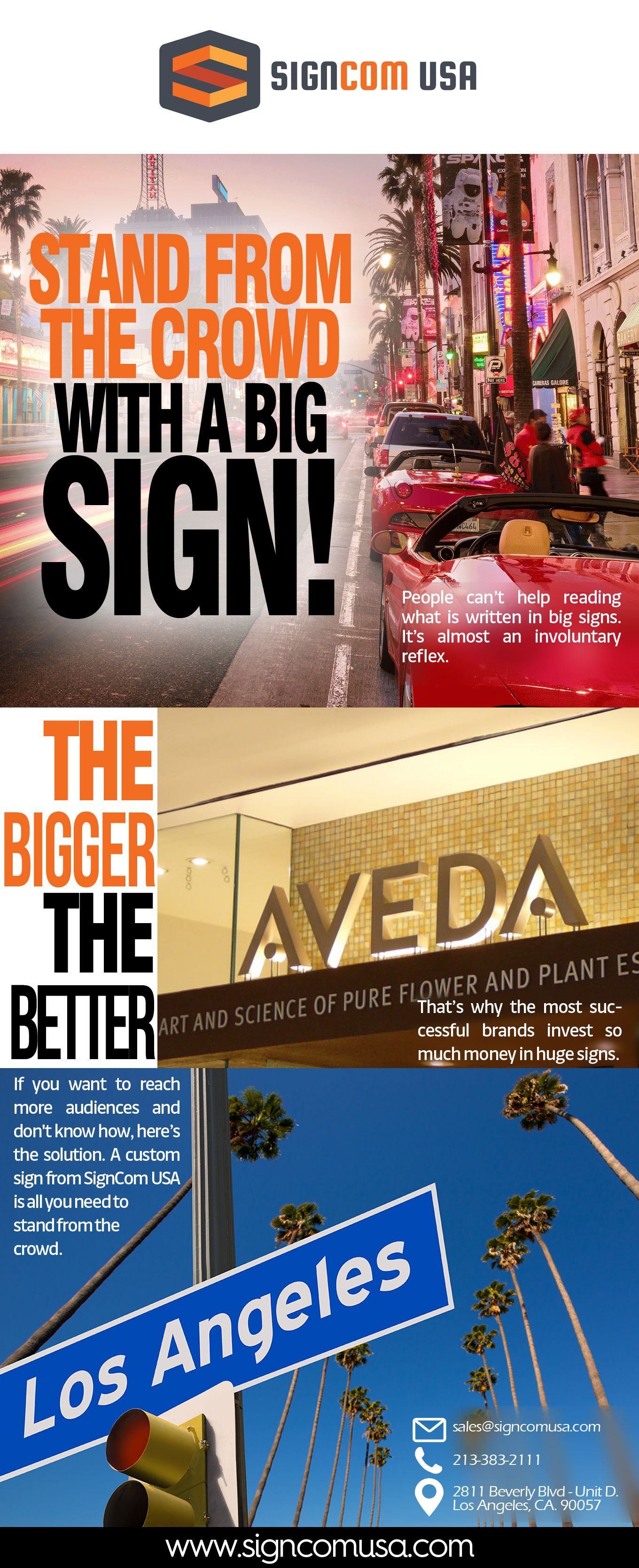 USA Contact us for Sign Installation Los Angeles