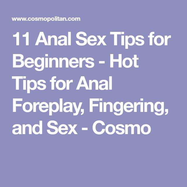 cosmopolitan anal sex