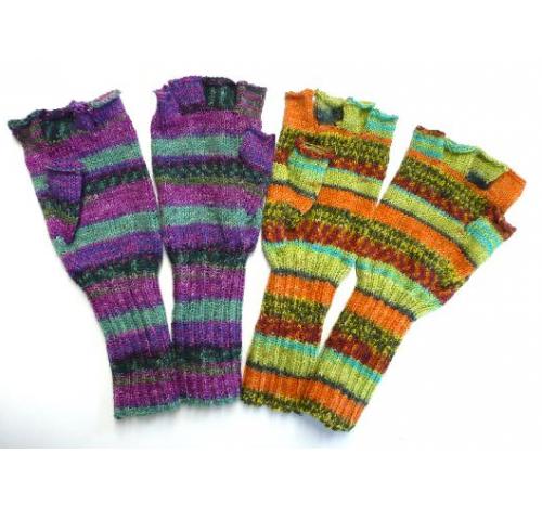 Handschuhe ohne Finger   Stricken und häkeln   Pinterest ...