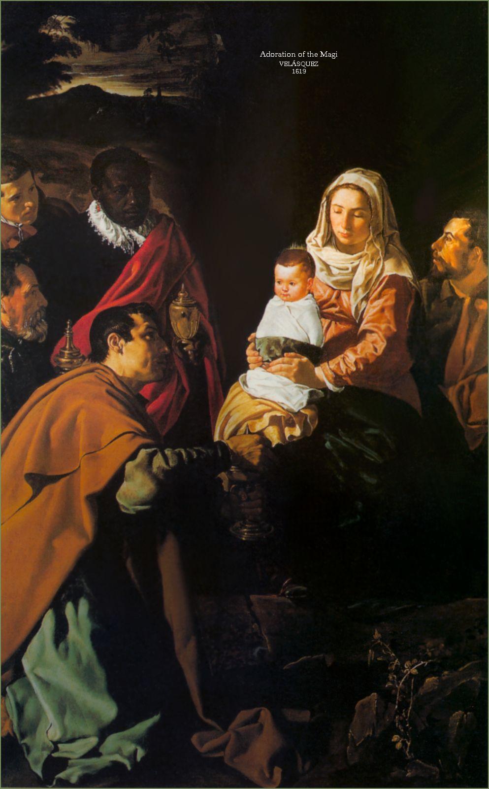 Adoraci³n de los reyes Magos Velazquez Paintings in 2019